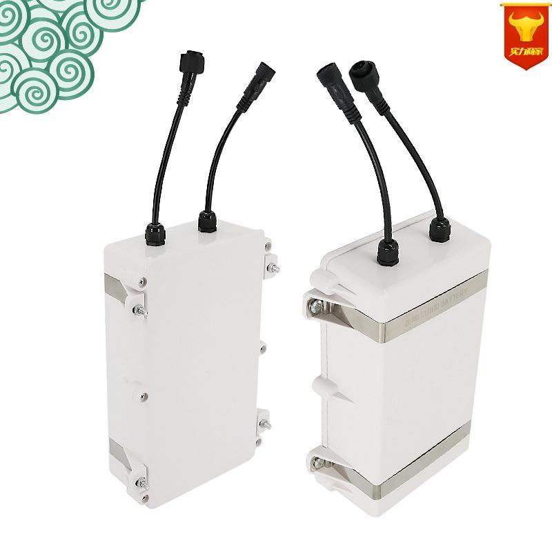 定制12v 80ah大容量广告机电池 11.1v全新18650锂电池组出口中东