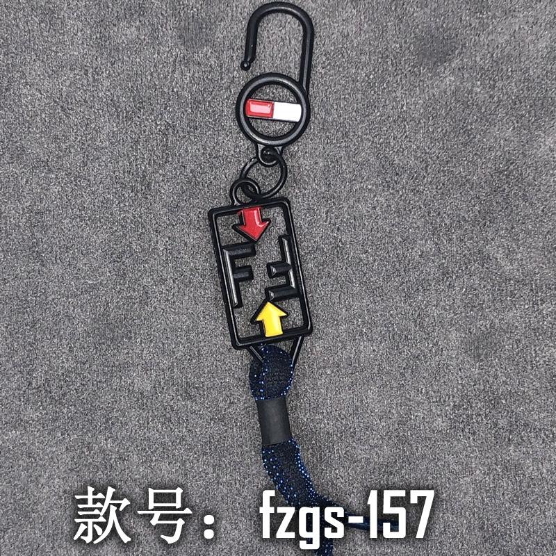 创意服装辅料免费拿样DIY五金小饰品挂绳挂饰挂件fzgs154-164