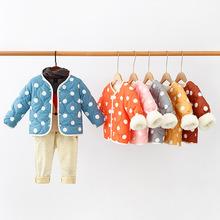 反季儿童羽绒棉服中小童宝宝保暖内胆棉衣外套男童女童内外穿棉袄