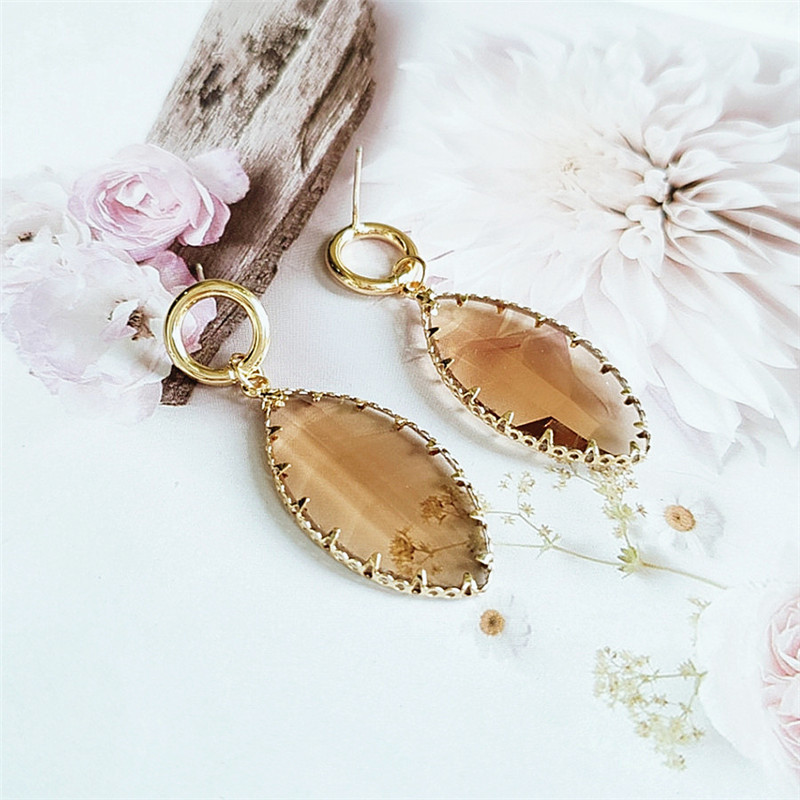 new fashion jewelry Korean retro earrings wholesale nihaojewelry NHVA230802