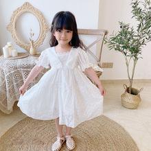 Đầm bé gái thời trang, kiểu đáng yêu, phối họa tiết đẹp mắt
