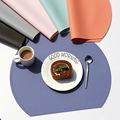 跨境硅胶餐垫批发莫兰迪色硅胶隔热垫北欧风餐桌垫家用西餐垫定制