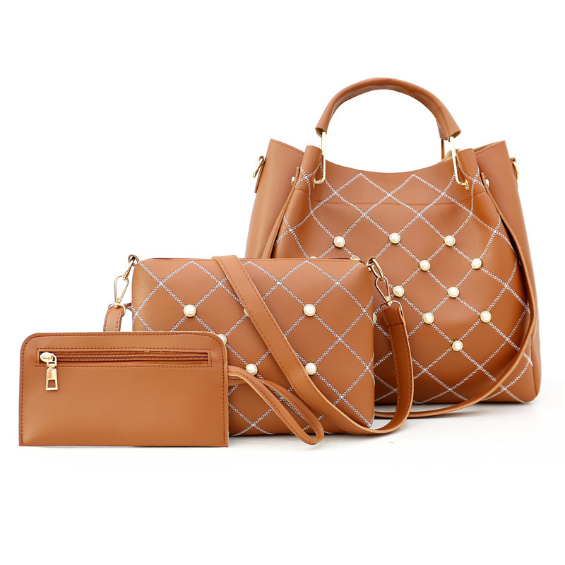 European And American Single Shoulder Bag With A Three-Piece Female Bag Mother And Child Bag