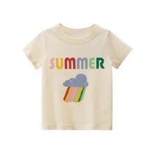 27home品牌童装2020夏季新品 女童短袖T恤批发 宝宝衣服一件代发