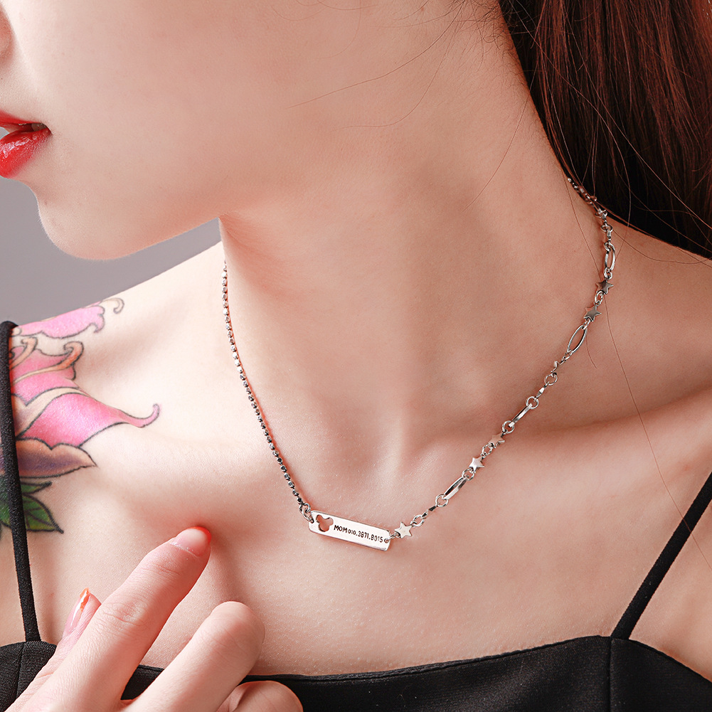 New fashion 925 sterling silver ladies necklace wholesale NHUI206792