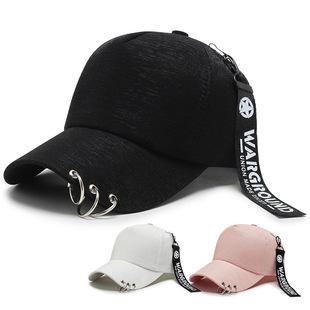 Hat male summer cap Korean version of the streamer hip-hop sun hat casual wild hipster street baseball cap ladies
