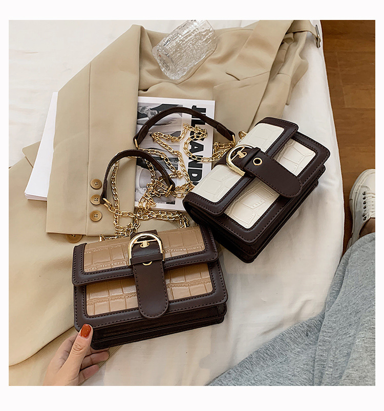 new trendy wild small square thin strap shoulder Messenger bag for women NHLH267418