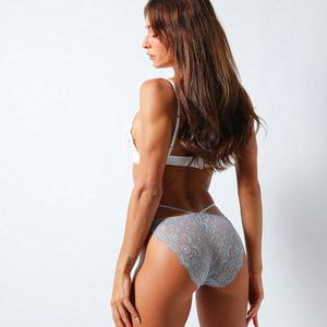 ខោទ្រនាប់នារី Women Casual Underwear Sexy Briefs Low Waist Panties PZ634413