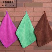 厂家直销珊瑚绒复合3040加厚擦地保洁毛巾厨房洗碗柔软吸水双面绒