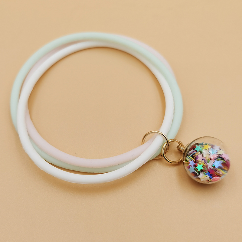 Mosquito Repellent Bracelet Summer Outdoor Travel Portable Fragrance Bracelet Anti-mosquito Ring Silicone Bracelet wholesale nihaojewelry NHDI219518
