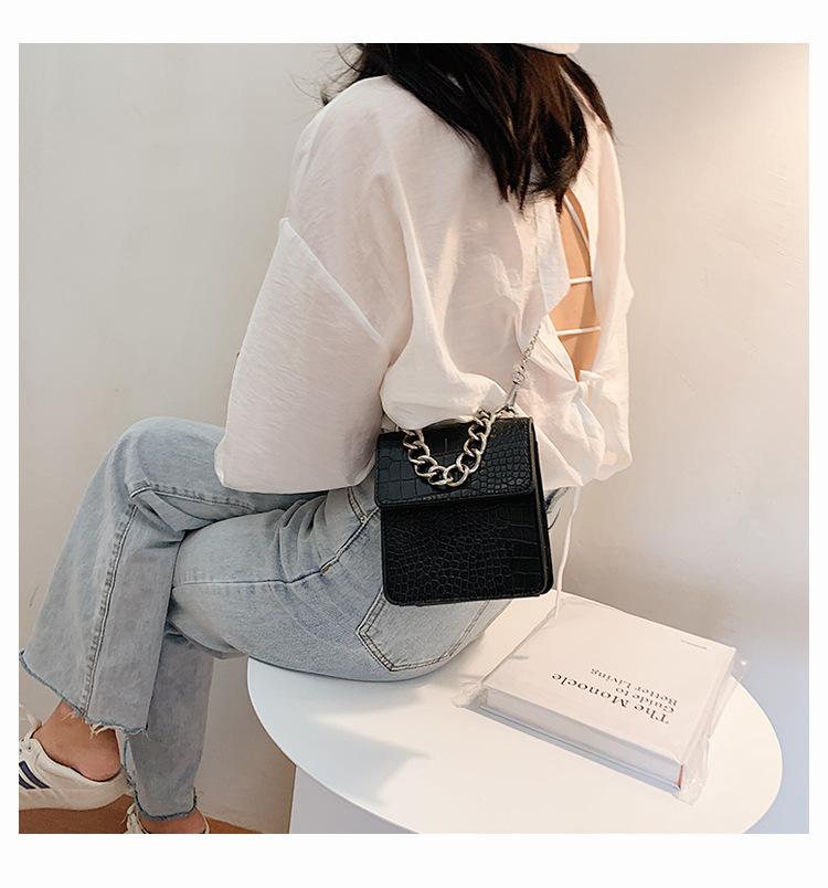 retro new trendy fashion chain messenger bag NHJZ313569