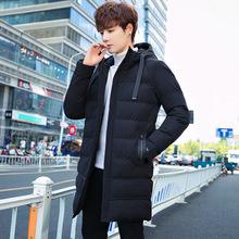 棉衣男士冬季2020新款外套新款韩版保暖棉袄加厚修身中长款棉服潮