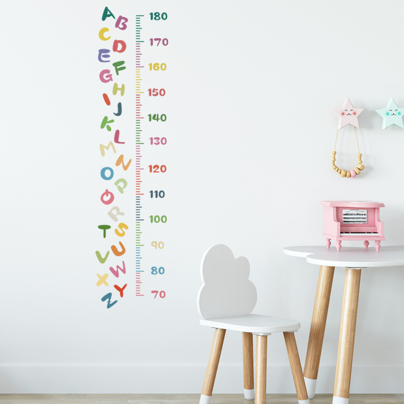 Cartoon 26 colorful English letters stickers NHAF315671