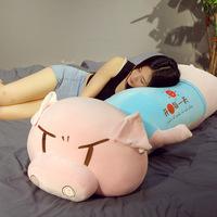 Lelelong новый мультфильм плюшевые игрушки свинья подушка кукла супер мягкая милая кукла свинья кукла большая спящая
