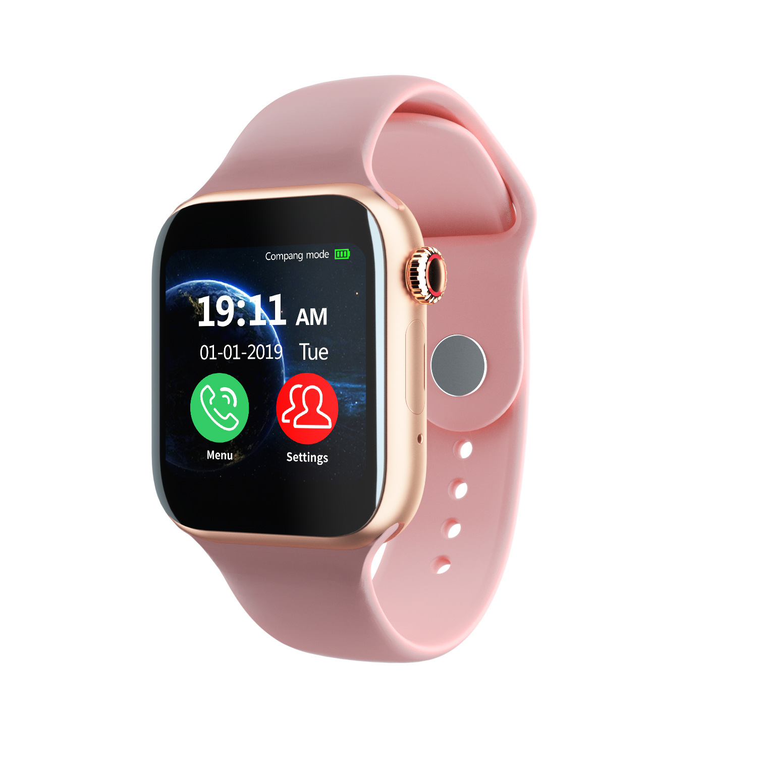 The New Phone Smart Watch Can Be Inserted Into The Card To Make And Receive Heart Rate And Blood Pressure Monitoring Exercise Smart Watch