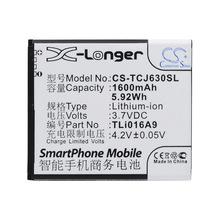 CS適用TCL J630T J600T正品手機電池廠家直供TLi016A9