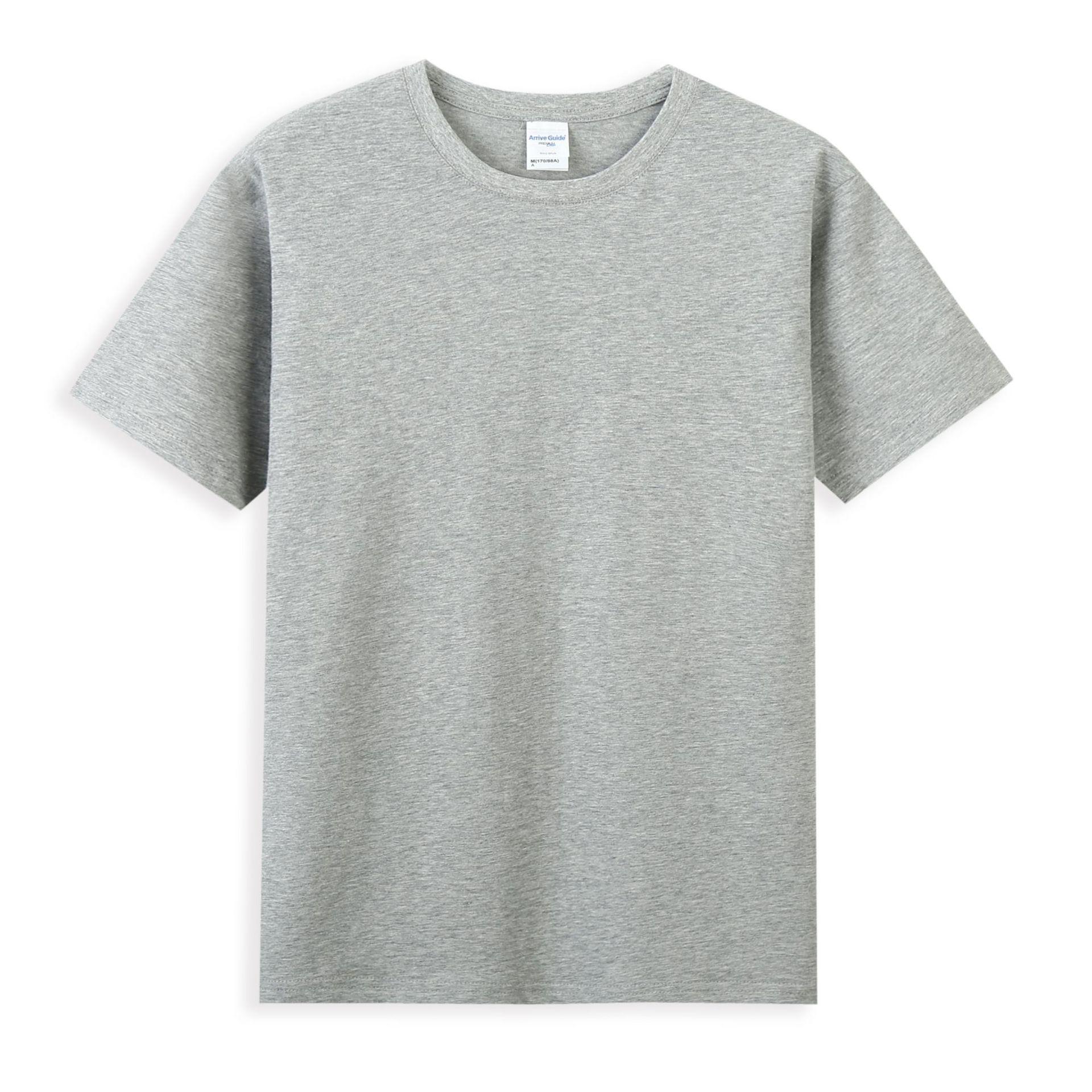 AG简约纯色T恤22色 40S双纱短袖通款