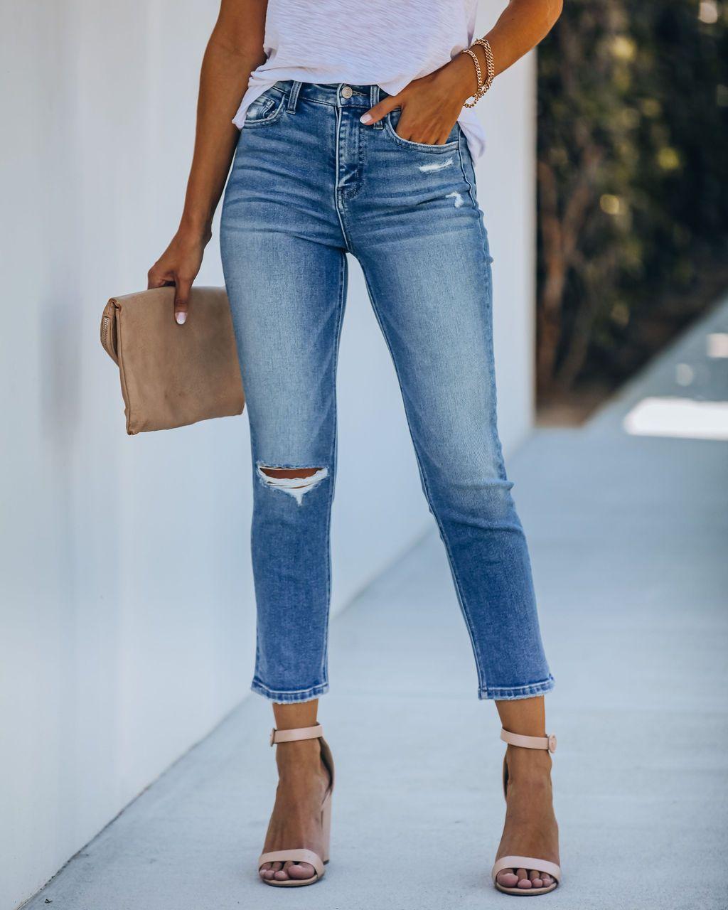 hole slim slimming pants NSYD3813