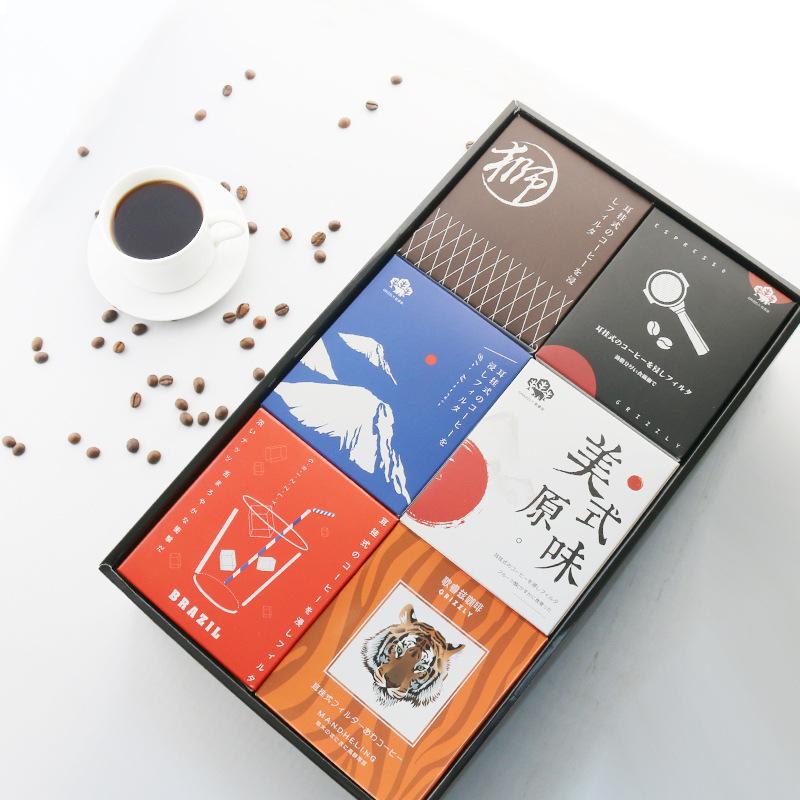 48枚 歌睿兹滤泡式挂耳咖啡组合 纯进口生豆烘焙现磨黑咖啡粉