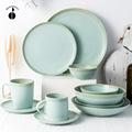 欧式创意简约陶瓷餐具个性家用4.5寸饭碗单个菜碗汤碗餐盘菜盘子