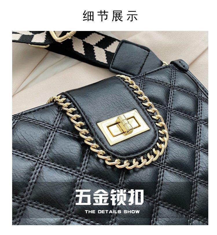Wide shoulder strap fashion bag NHTG305662