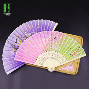 Chinese Fan Chinese Hanfu hand Fan A large number of craft gift fans Erqing Japanese folding fan ancient silk fans can be customized