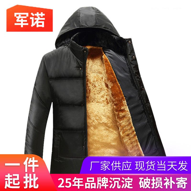 冬季男士棉衣 加大加厚爸爸棉外套 中老年保暖棉袄宽松型棉服批发