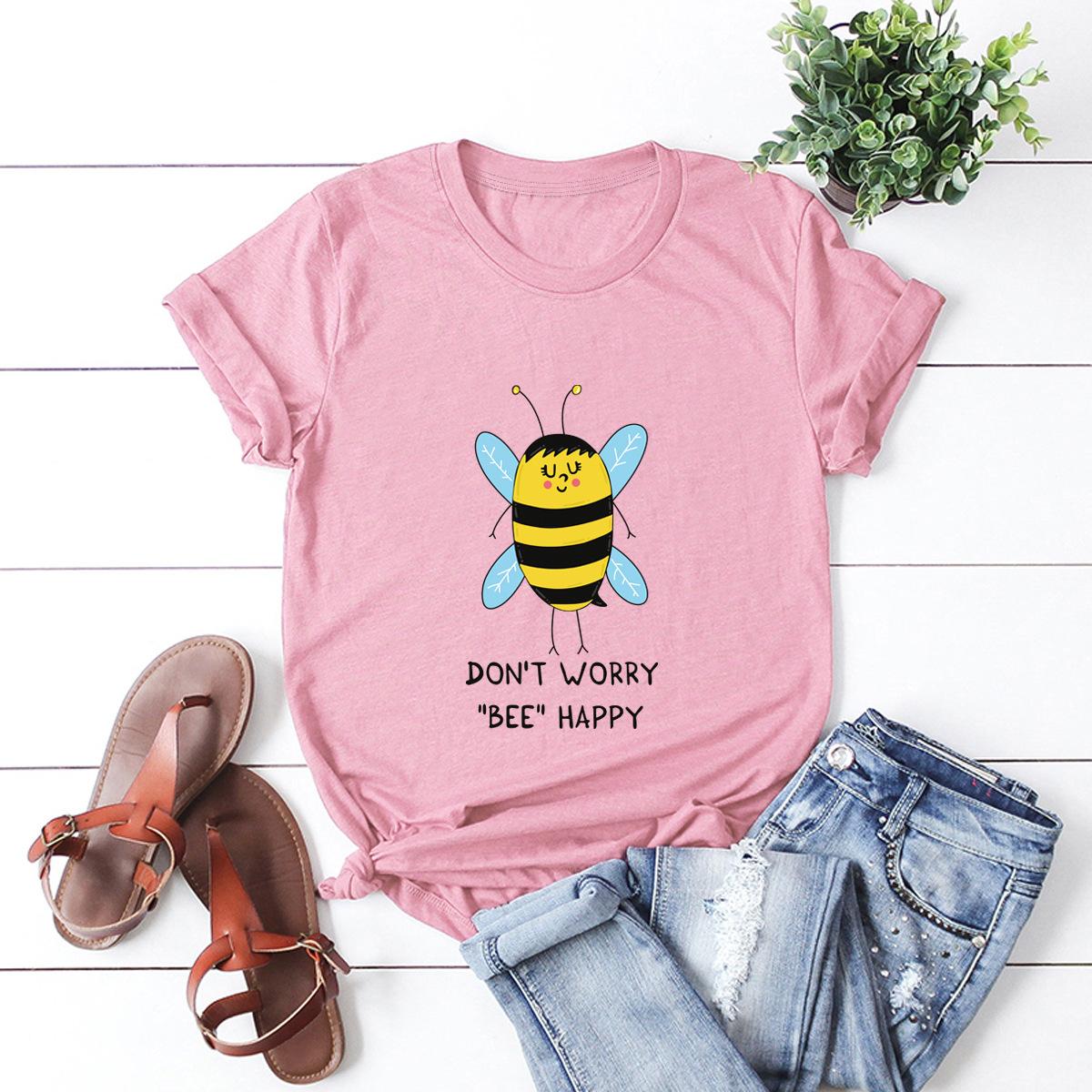 casual bee short sleeve women's t-shirt NSSN1764