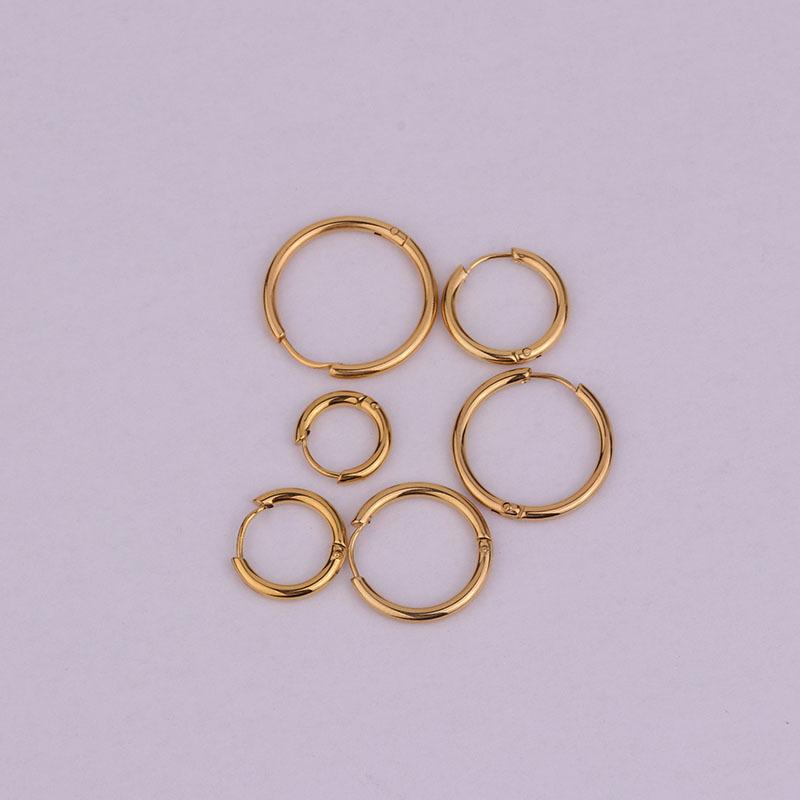 Korean stainless steel earrings NHEN260930