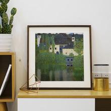 黑胡桃M 裱畫框外框裝裱洗照片做成相框定制十字繡實木掛墻木質大