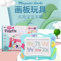 Детская цветная доска для письма, магнитная доска для рисования, детские игрушки с граффити для малышей, ручная роспись для детей раннего возраста оптом