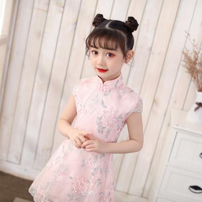 Qipao for kids Girl Qipao Guotang foreign style little girl dress girl Qipao skirt