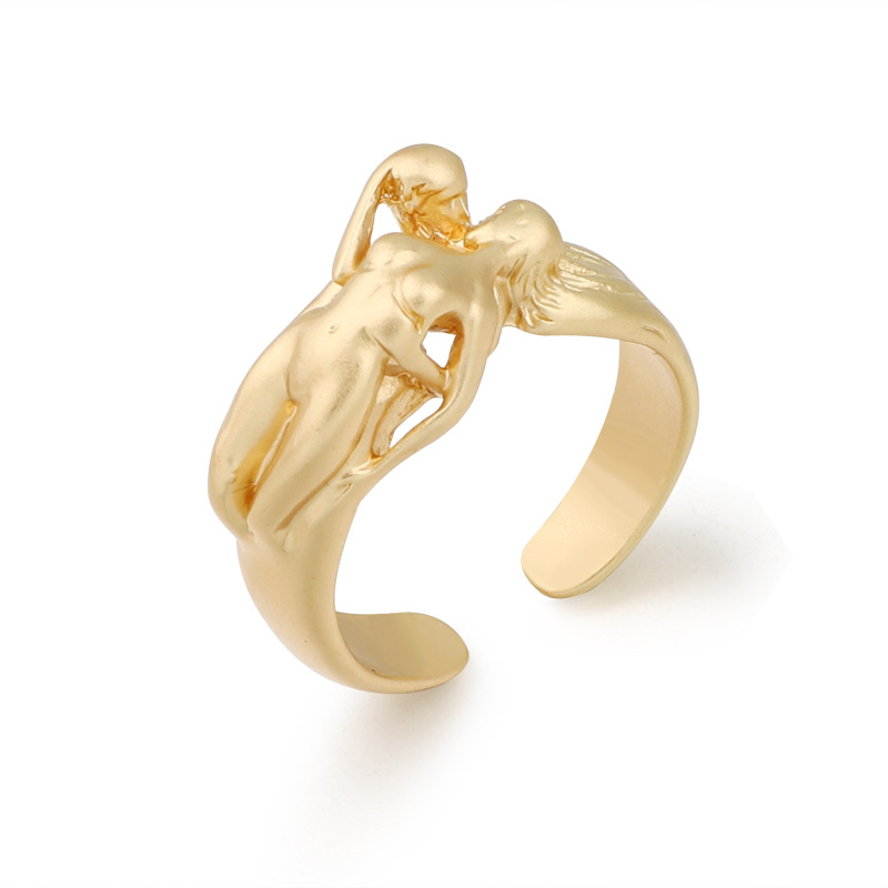 New fashion ring creative men and women forever ring Asian gold ring wholesale NHGO206702