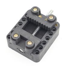 钟表工具修理 电池胶座 手表换修表 表座包邮固定器雕刻夹具 维修
