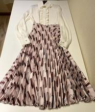 外貿原單2020早春重磅真絲百褶半身裙