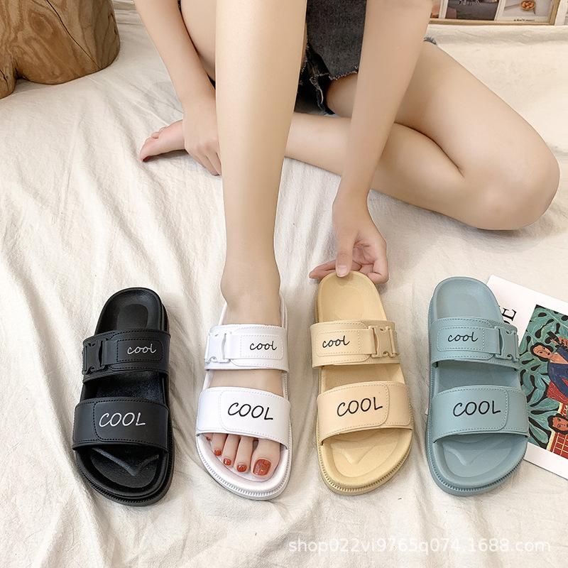 Slippers female summer new style Korean...