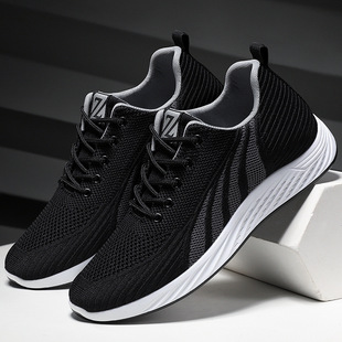 Shoes men spring 2021 new breathable men's shoes casual lightweight running shoes Korean trend sports shoes men