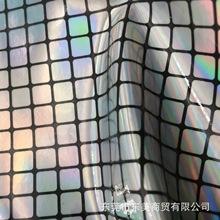 金銀點 彩虹膜 格子PVC合成革多彩斑點pu皮革 金屬貼膜格子人造革