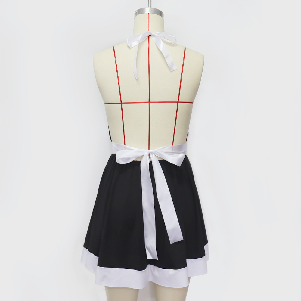 new sexy lingerie ladies sexy maid maid suit uniform temptation game costume wholesale nihaojewelry NHYO236672