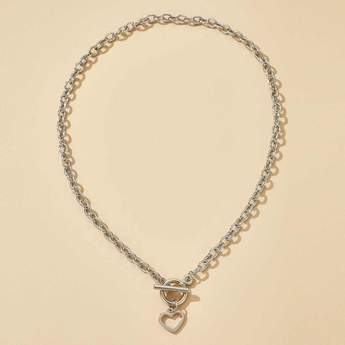 simple buckle necklace wholesale NHGY286329