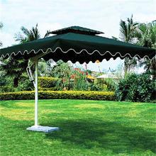 供应单边岗亭庭院伞侧立边柱伞休闲户外遮阳可以印刷广告保安站伞