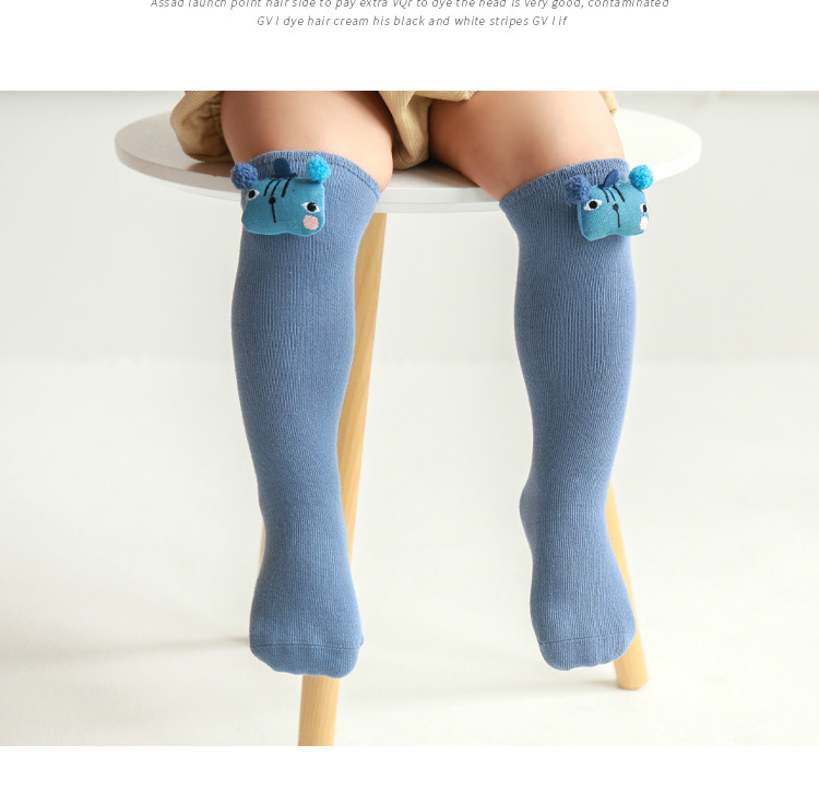 Children's socks autumn and winter new cartoon doll baby stockings tube loose cotton socks wholesale NHER246543