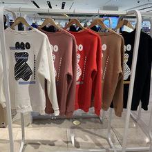 20秋季新品韩国设计师品牌AQO新款情侣版小熊图案圆领卫衣tj