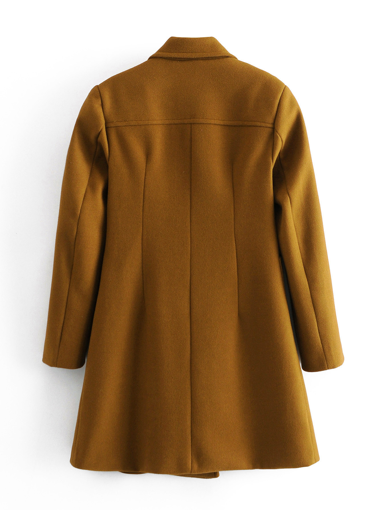 women's autumn and winter new wool double-breasted coat jacket  NSAM2286