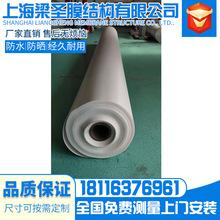 膜布960克PVC表面處理熱銷膜布1100克PVC單表處理膜結構車棚篷布