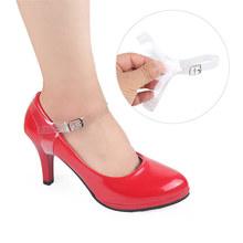 防掉跟束鞋带防止鞋不跟脚高跟鞋绕脚脖子百搭透明多功能三角隐形