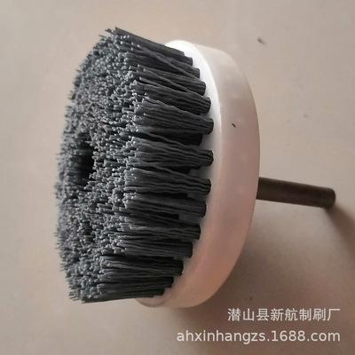 厂家直销抛光磨料丝圆盘刷 平面去毛刺端面刷 各种规格可定制规格