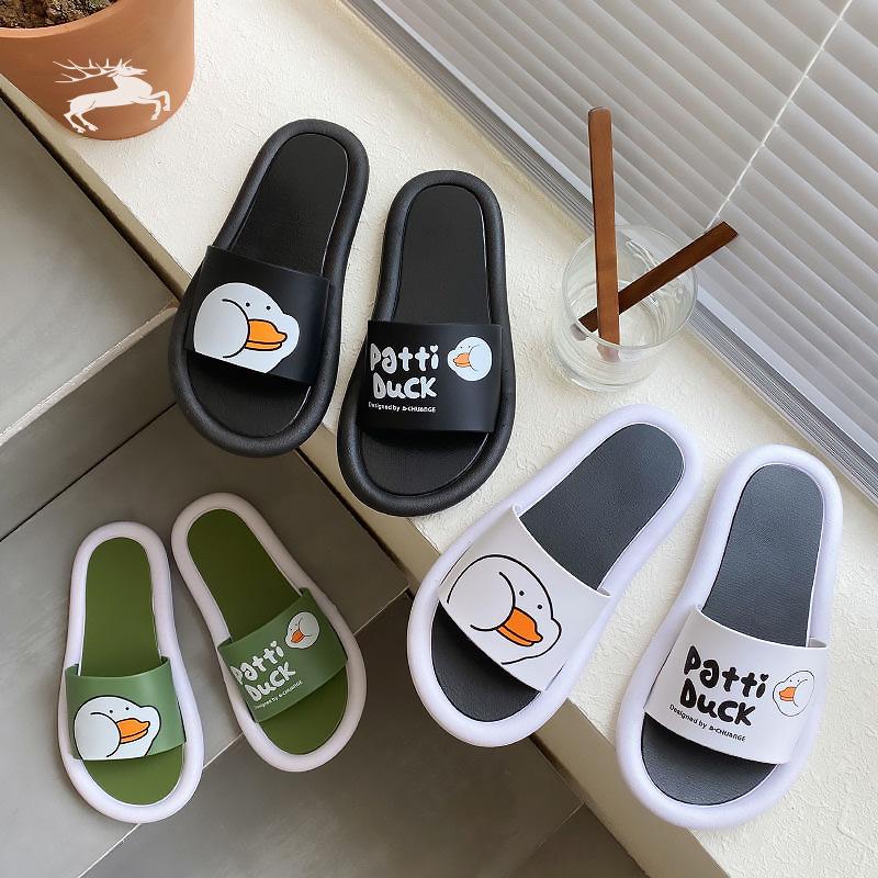 拖鞋男女情侣夏居家外穿室内家用韩版百搭芝麻街防滑凉拖ins女鞋