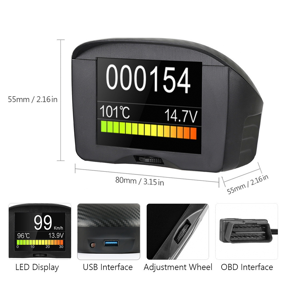 Overspeed Alarm with Multi-functional head-up display