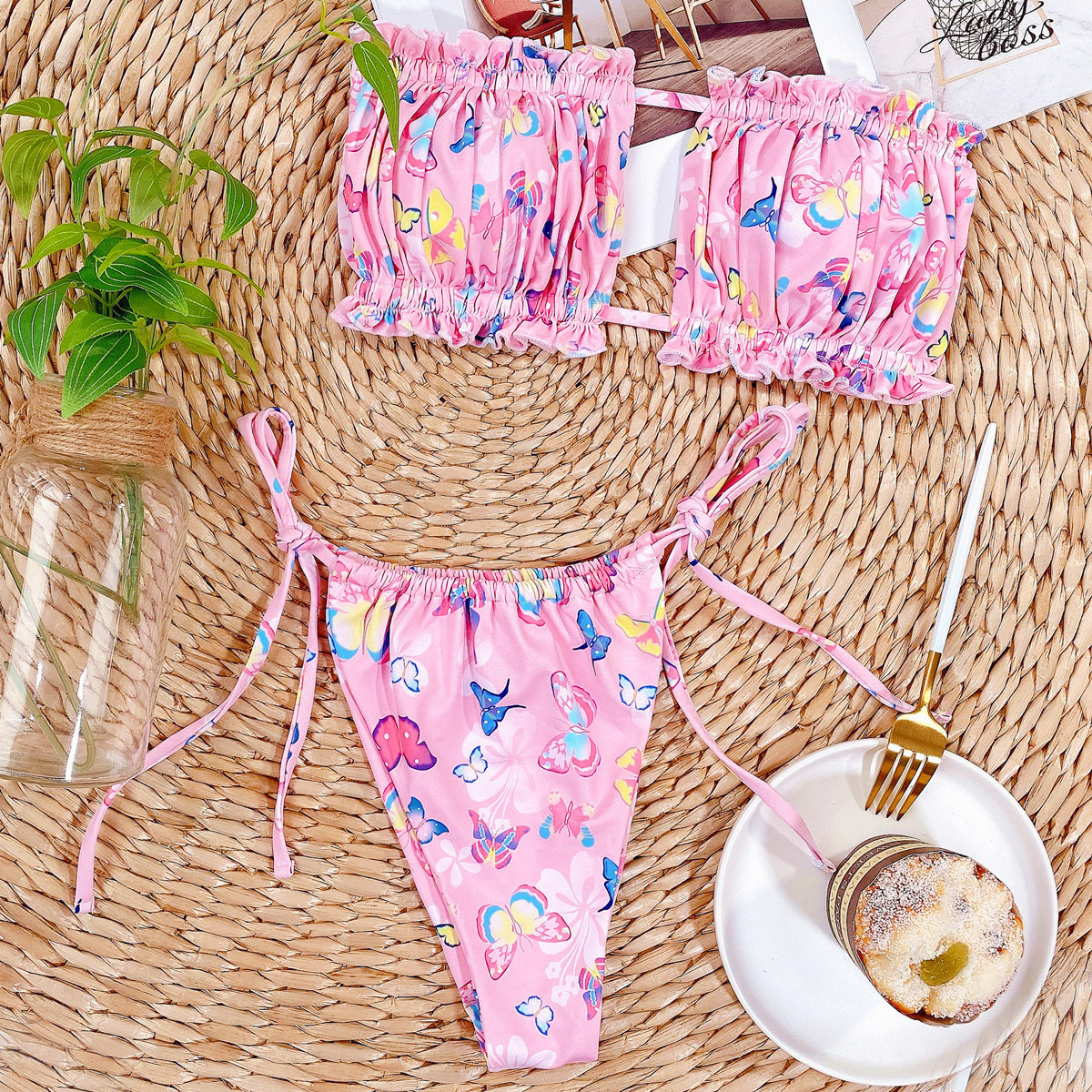 hot style new ladies swimsuit bikini wholesale  NHDA85